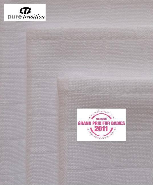 Libštátské pleny EXTRA kvality 70×70 cm bílé – 10 ks