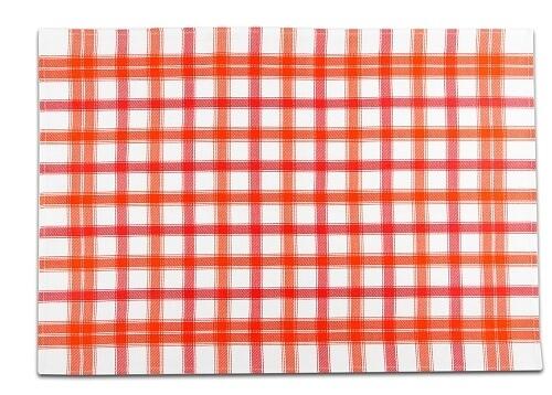 Utěrky Bambus velká kostka červená – 3 ks v balení
