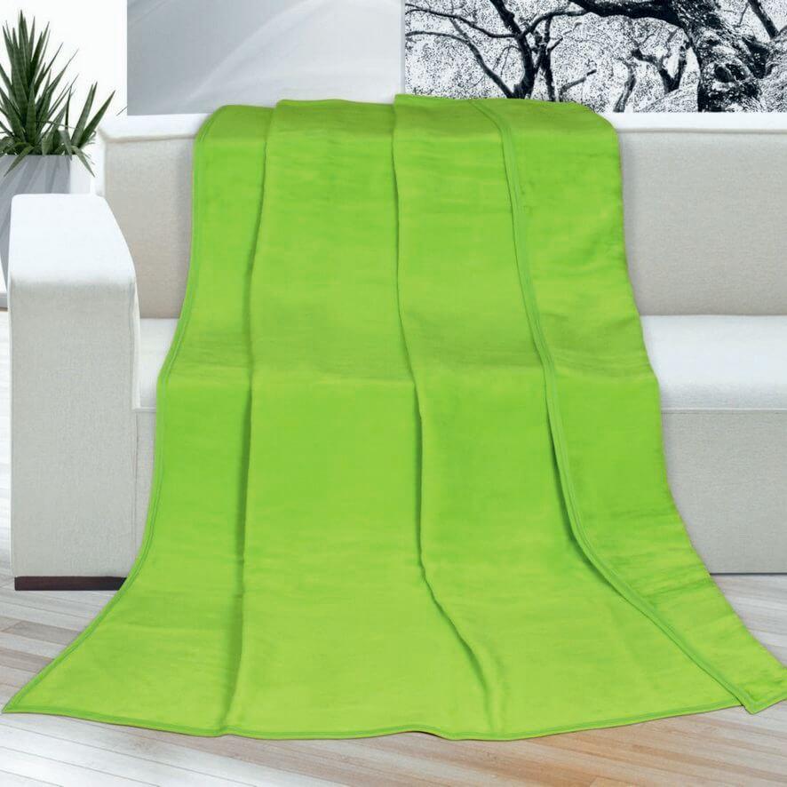 Deka Kira plus jednolůžková zelená