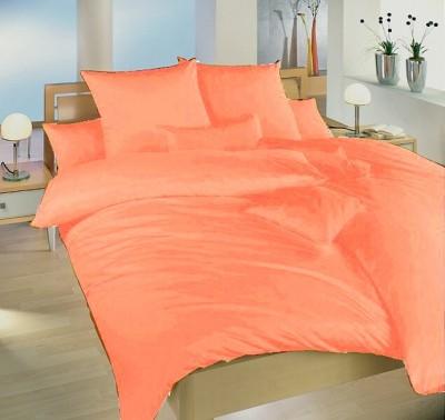 Ložní povlečení krep oranžový