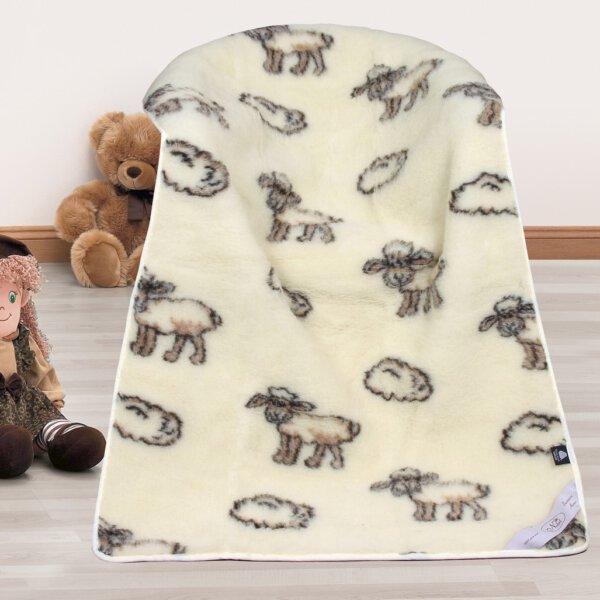 Dětská deka ovečka – Evropské Merino 450 g/m2