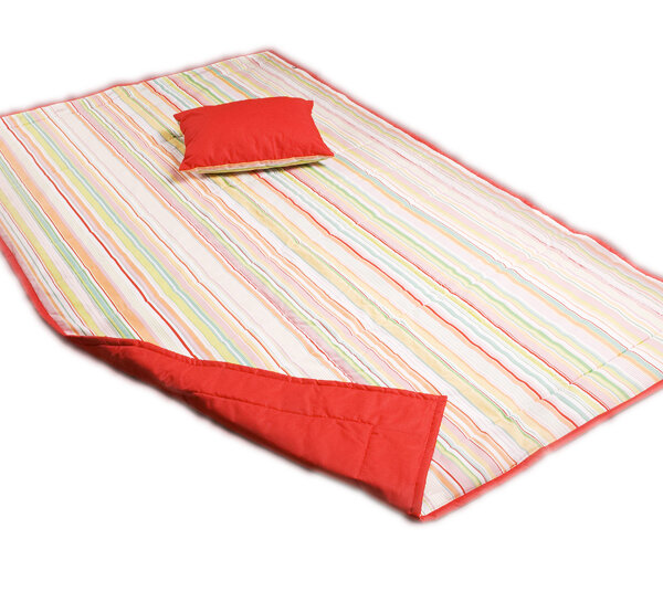 Přehoz na postel dvoulůžko 200×230 cm + 2x polštářek
