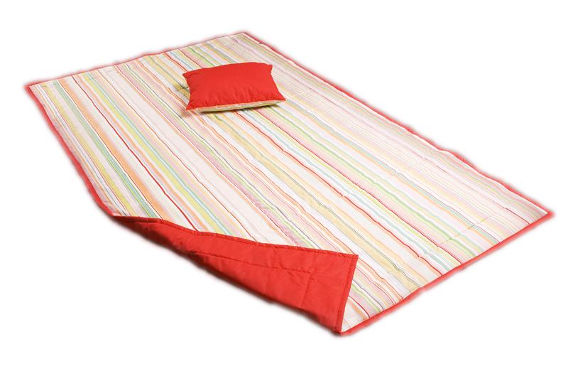 Přehoz na postel dvoulůžko 220×240 cm + 2x polštářek