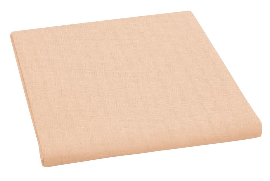 Plátěné prostěradlo plachta lososová 150×230 cm