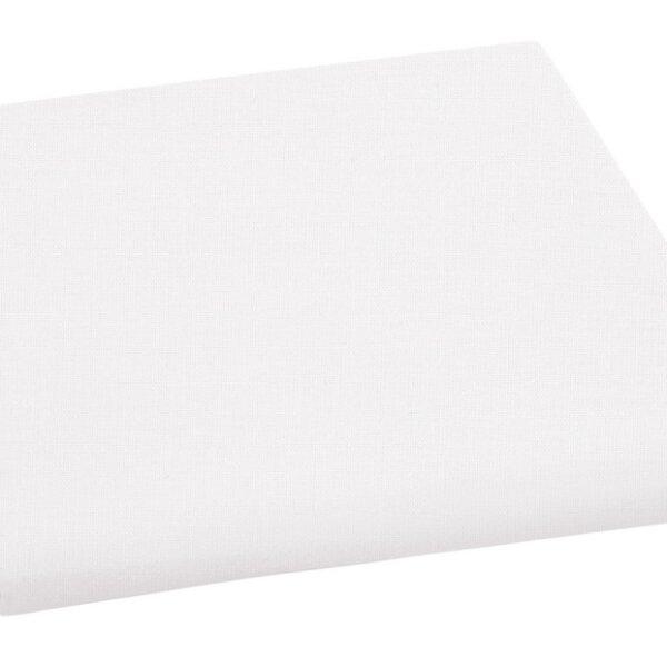 Plátěné prostěradlo plachta bílá