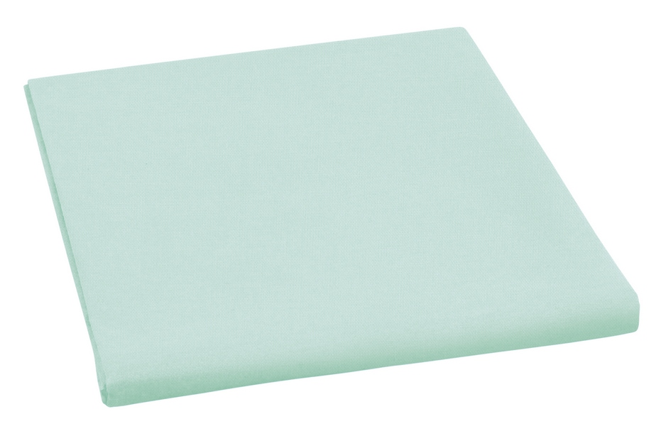 Plátěné prostěradlo plachta pastelově zelená 150×230 cm