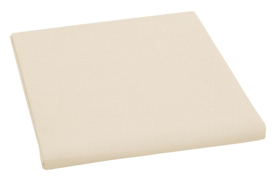 Plátěné prostěradlo plachta béžová 150×230 cm