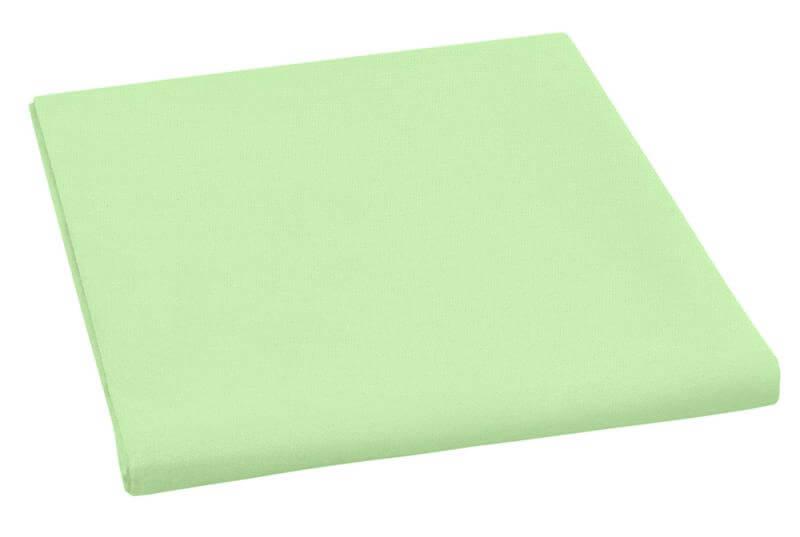 Plátěné prostěradlo plachta zelená 150×230 cm