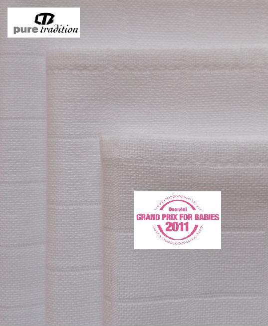 Libštátské pleny EXTRA kvality 80×80 cm bílé – 10 ks