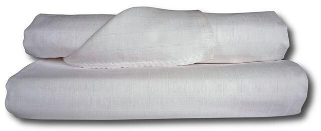 Libštátské látkové osušky bílé 90×100 cm – 1 ks