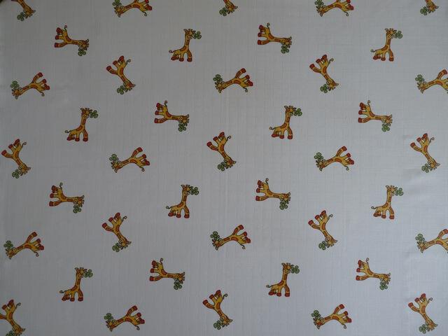 Libštátské pleny potisk Žirafa 70×70 cm – 1 ks