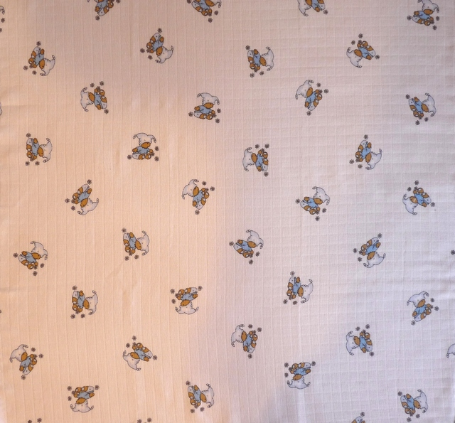 Libštátské tetra osušky Méďa modrý 90×100 cm 1 ks