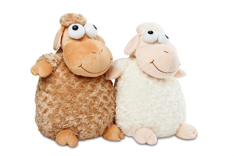 Plyšák ovečka Julie hnědá