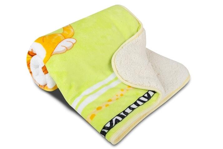 Dětská deka SLEEP WELL OVEČKA – Pejsek a kočička