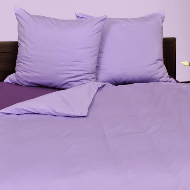 Ložní povlečení bavlna fialová