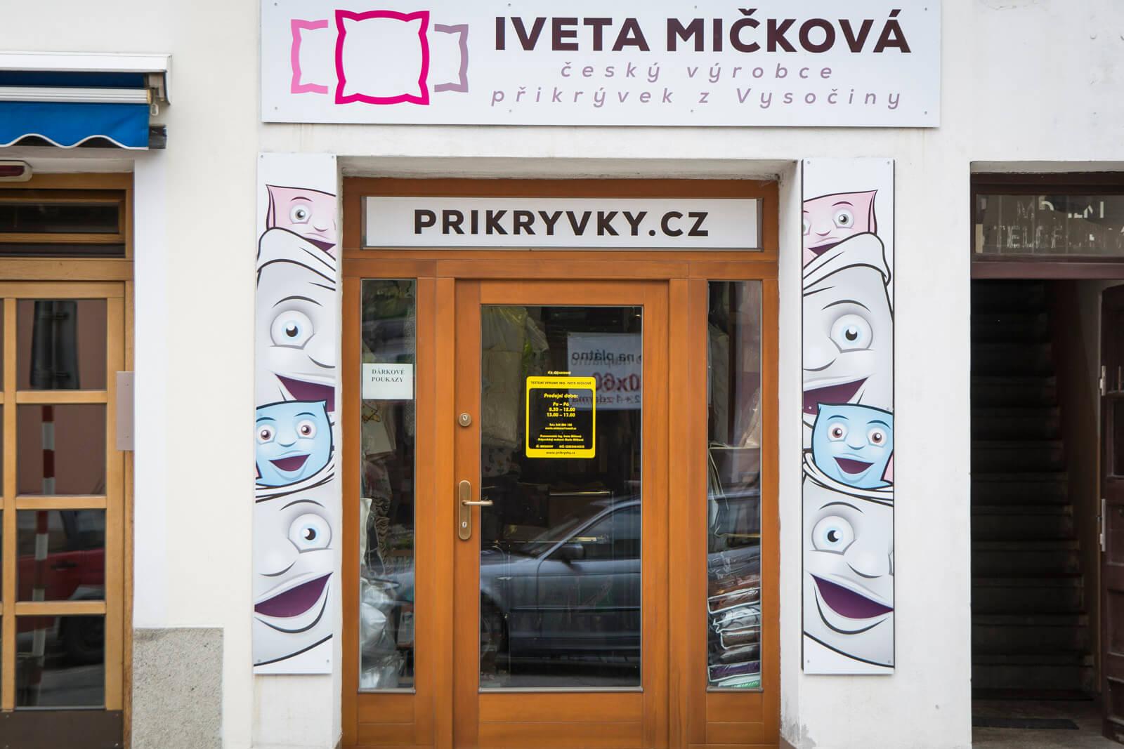 Prodejna Přikrývky.cz
