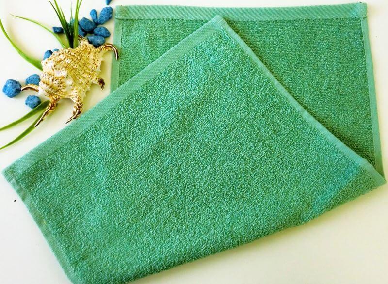 Dětský ručník froté 30×50 cm olivový