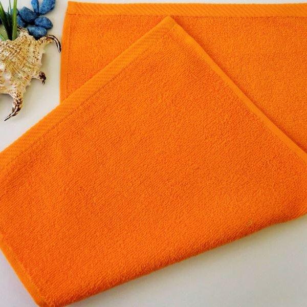Dětský ručník froté 30×50 cm oranžový
