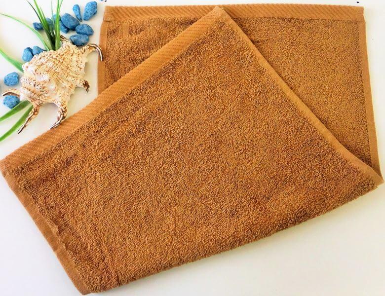 Dětský ručník froté 30×50 cm oříškový