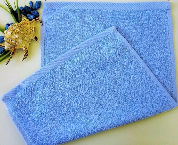 Dětský ručník froté 30×50 cm světle modrý