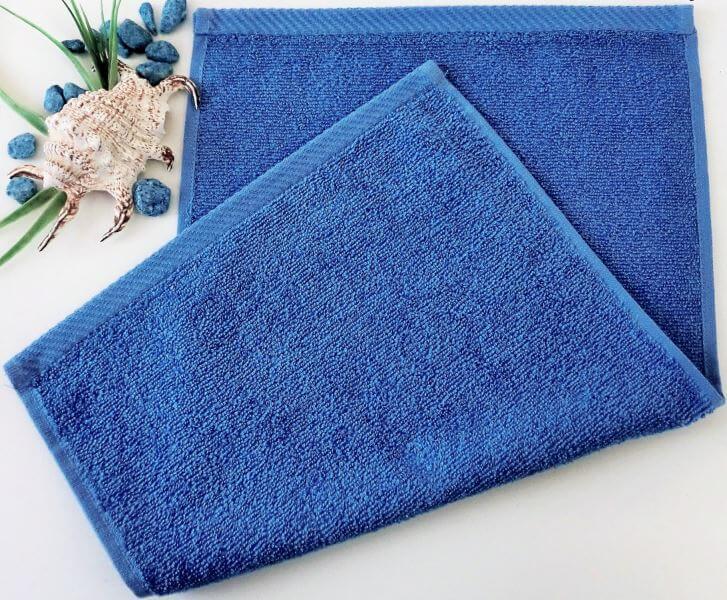 Dětský ručník froté 30×50 cm tmavě modrý