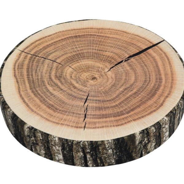 Sedák ORESTE kulatý dřevo