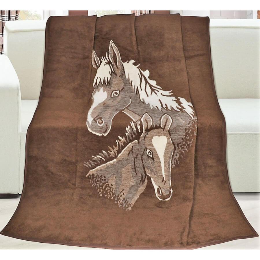 Deka Karmela plus jednolůžková koně