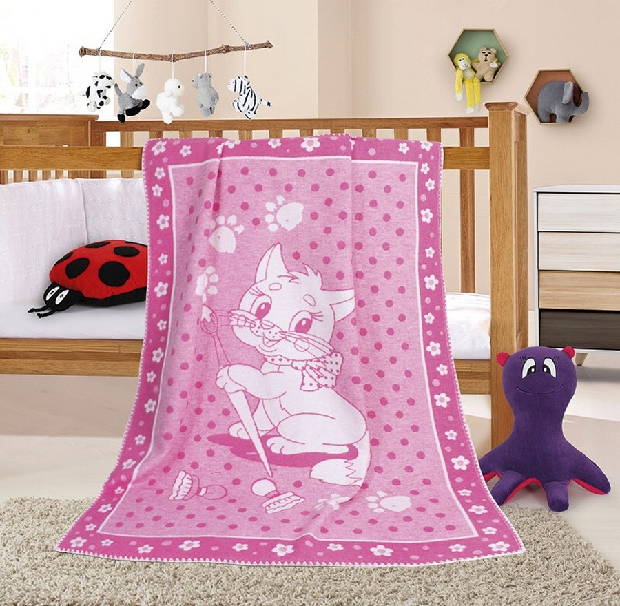 Dětská deka kočička