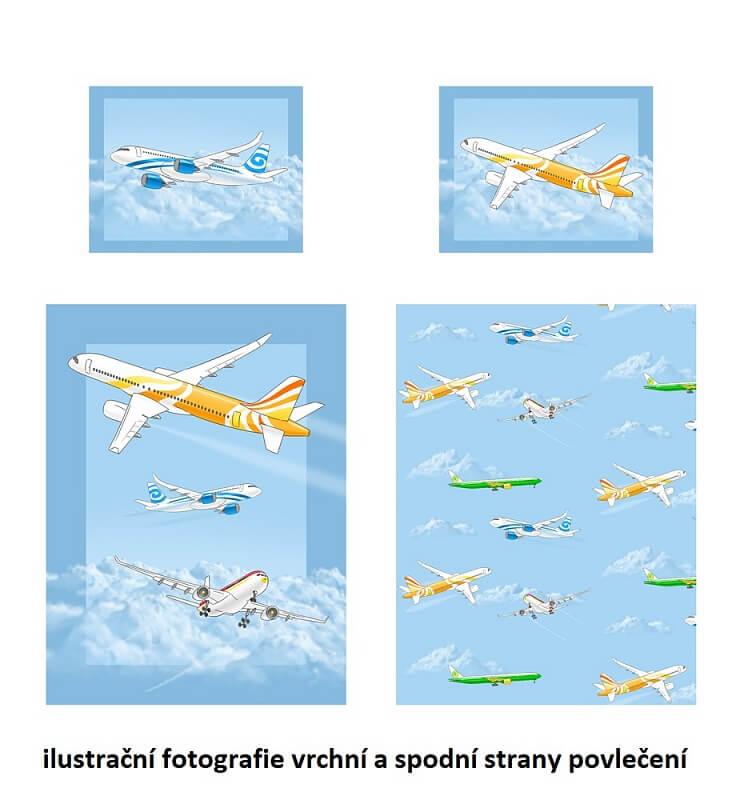 Povlečení Letadla