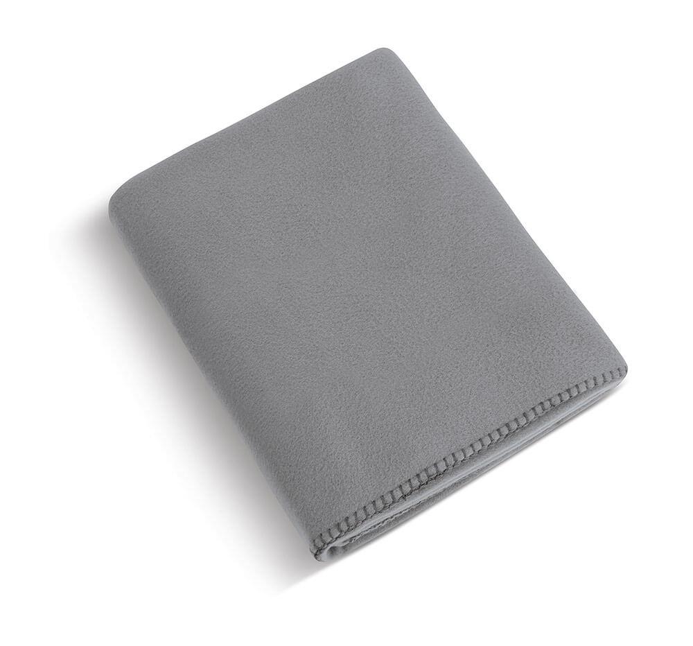 Deka POLAR fleece šedá