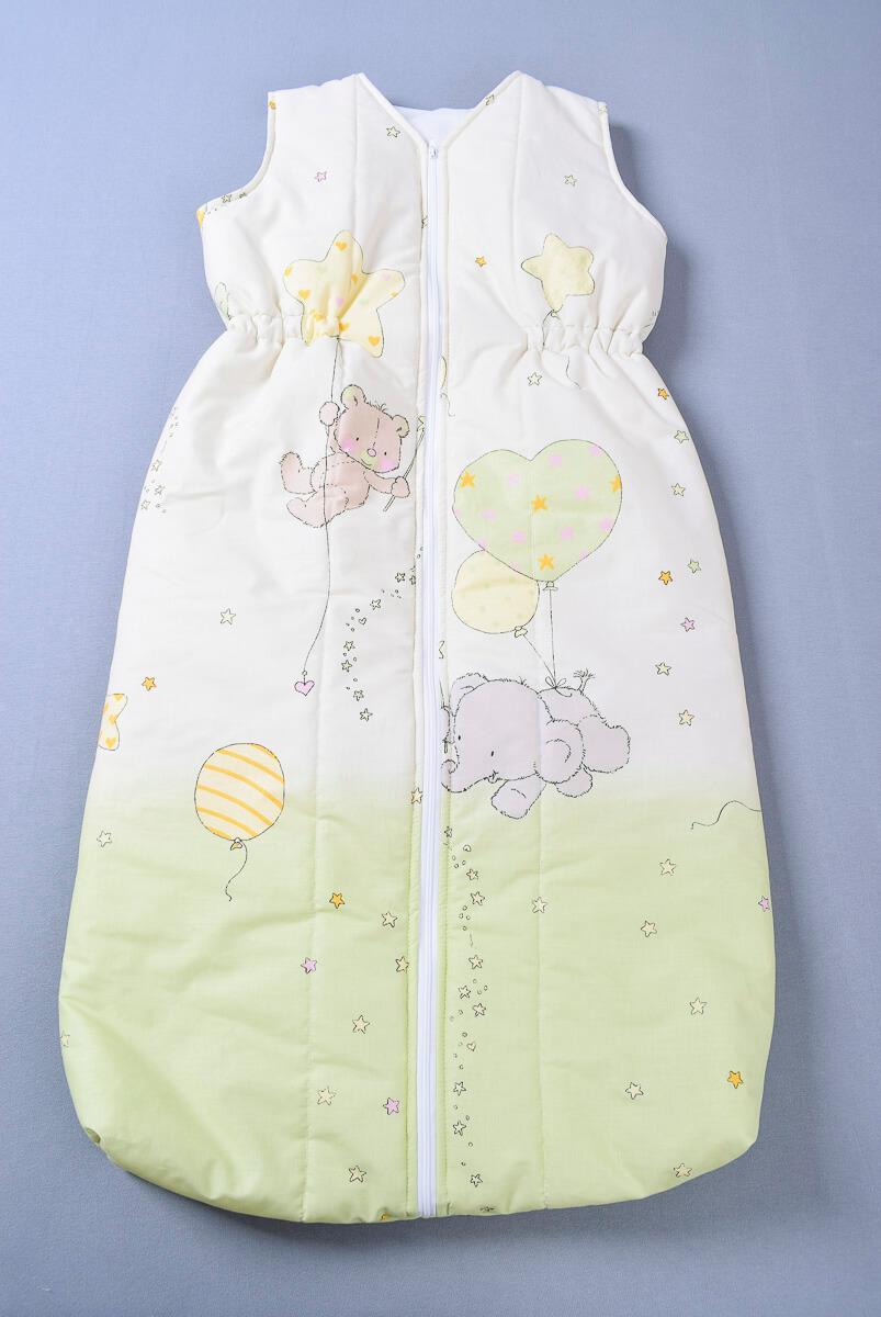 Dětský spací pytel zvířátka s balóny