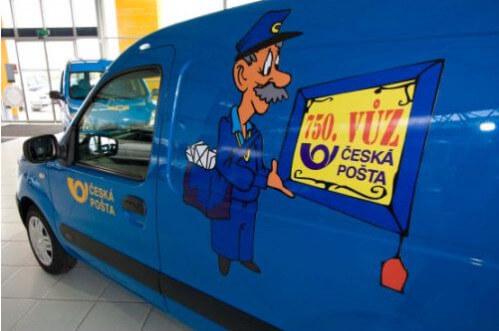 Česká pošta – balík do ruky