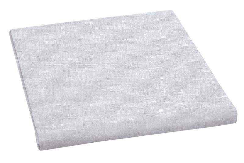 Plátěné prostěradlo plachta sv. šedá 150×230 cm