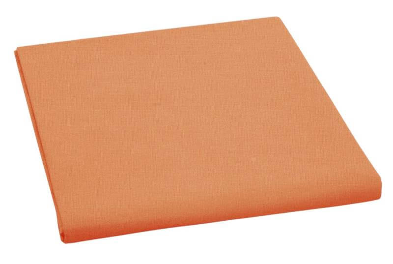 Plátěné prostěradlo plachta oranžová 150×230 cm