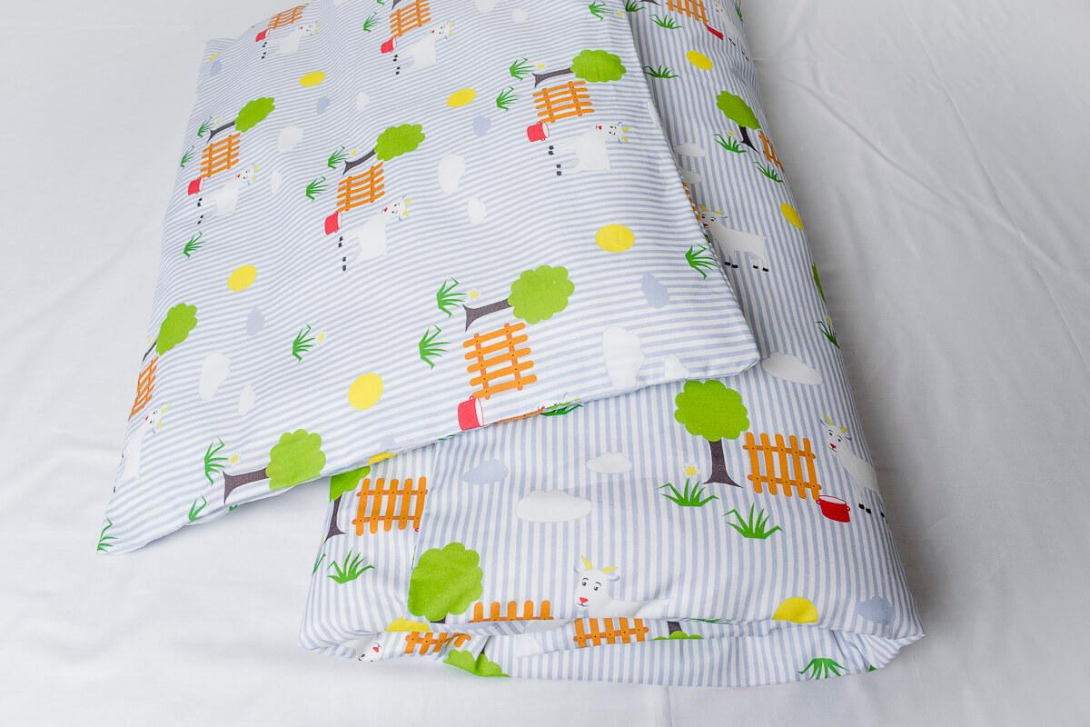 Dětské povlečení bavlna kozička DoRa