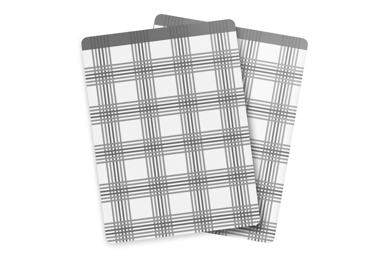 Utěrky Bambus velká kostka šedá – 3 ks v balení