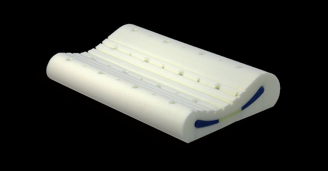 Anatomický polštář TEDD potah Dry Fast Argentum