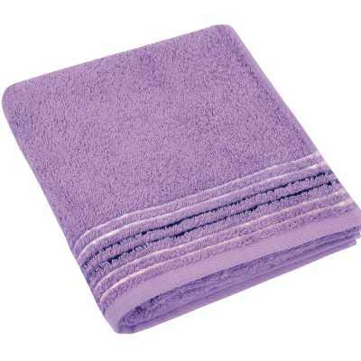 Bavlněný ručník Fialová kolekce 50×100 cm barva fialová