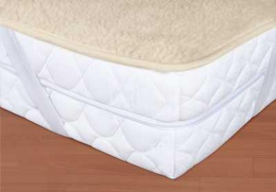 Chránič matrace béžový – Evropské Merino 450 g/m2
