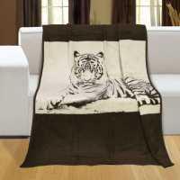 Deka Karmela plus jednolůžková tygr