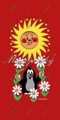 Osuška Krteček a sluníčko