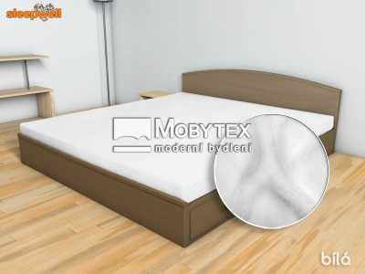 Prostěradlo Mikroflanel bílá 180×200 cm