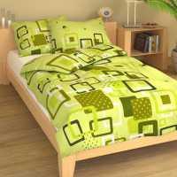 Bavlna obrazce zelené 9332-51