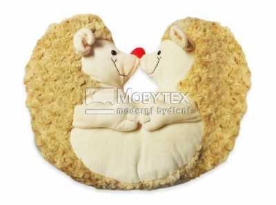 Plyšák ježci – polštářek