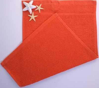Dětský ručník froté 30×50 cm červený