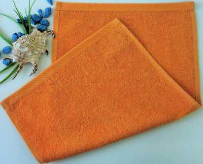 Dětský ručník froté 30×50 cm rezavý