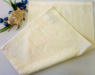 Dětský ručník froté 30×50 cm smetanový