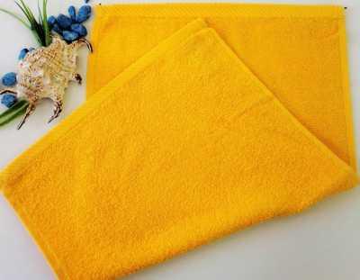 Dětský ručník froté 30×50 cm sytě žlutý