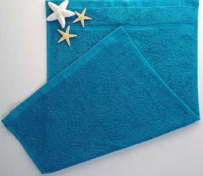 Dětský ručník froté 30×50 cm azurově modrý